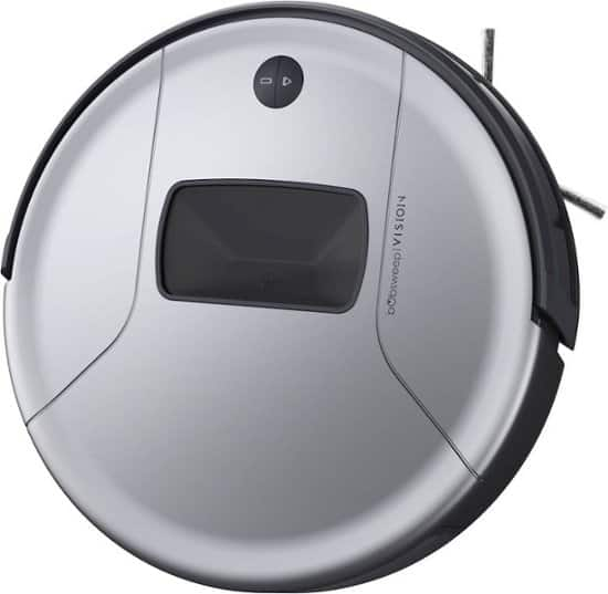 Vision Wi-Fi Connected Robot Vacuum Cleaner, Steel - Removes Pethair $187