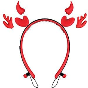ZOETOUCH Bluetooth Headphones - Perfect Gifts for Girls Headband Style Headset with Glowing Cat Ears $24.99
