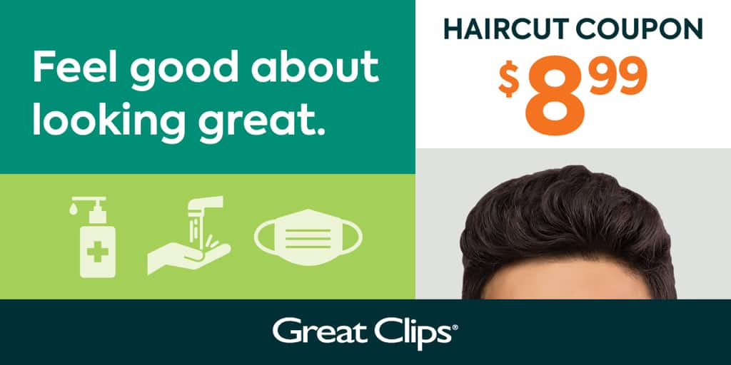 Great Clips – $8.99