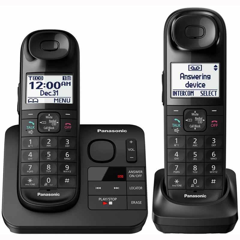 Panasonic Expandable Cordless Phone and Answering Machine ...