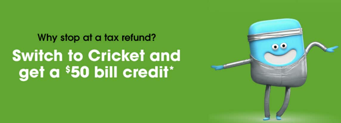 Switch To Cricket And Get A 50 Bill Credit Slickdeals Net