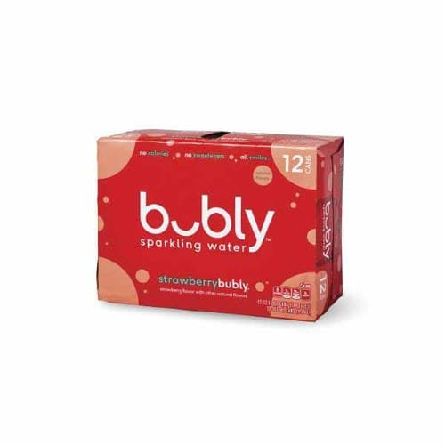 Bubly Sparkling Water @ Publix B&M - 12 Pack BOGO (24 cans for 4.99) $4.99