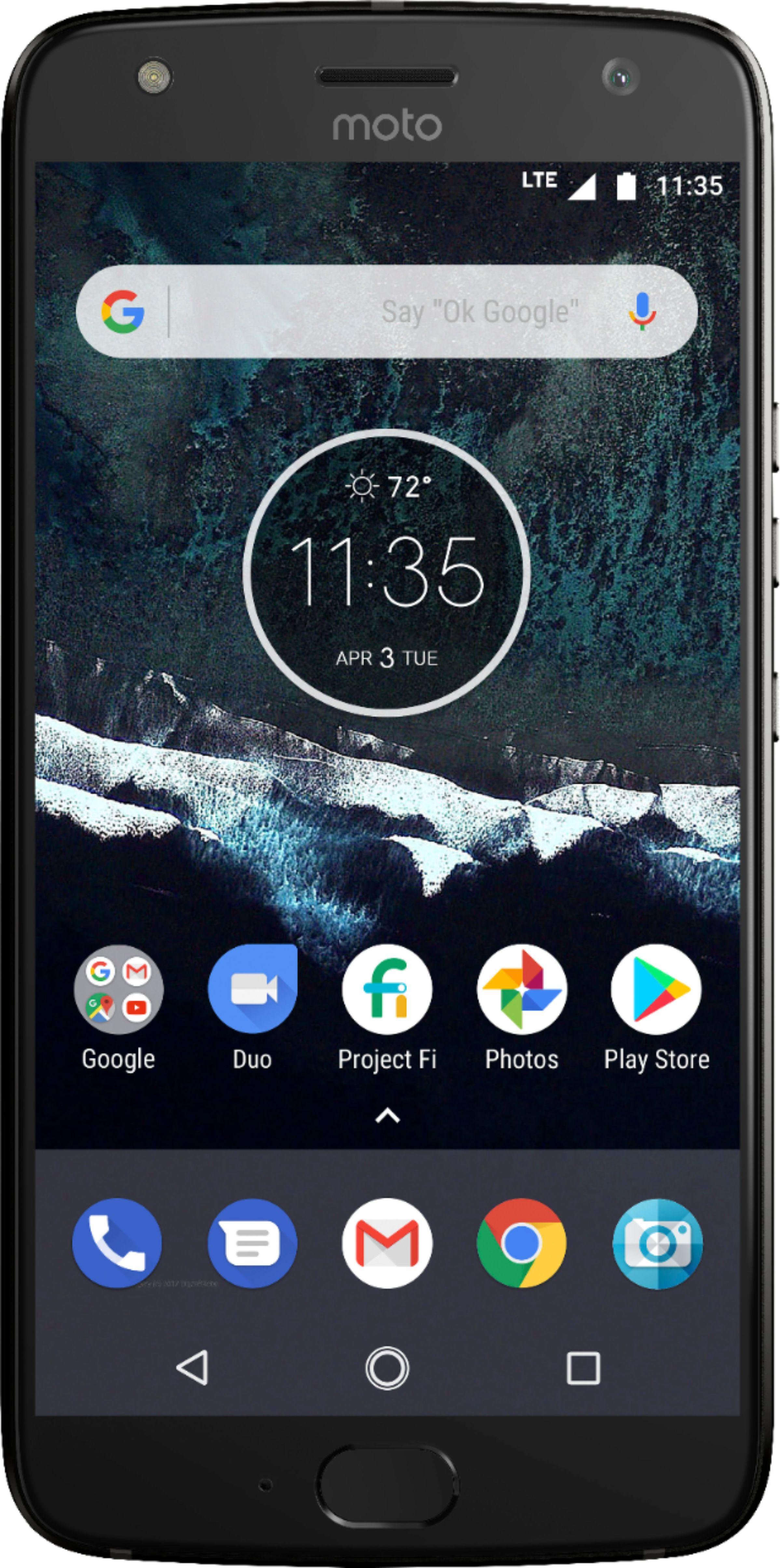 32gb Moto X4 Unlocked Phone 40 Cricket Wireless Card 3