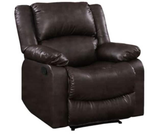 Relax-a-Lounger Lifestyle Solutions Fabric Pushback Recliner only $149 @ BJ's Pickup only at this price, delivery adds Approx $102