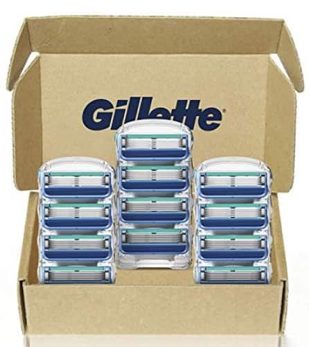 Gillette5 Men's Razor Blade Refills, 12 Count @ Amazon $16.10 or 1.34 per cartridge