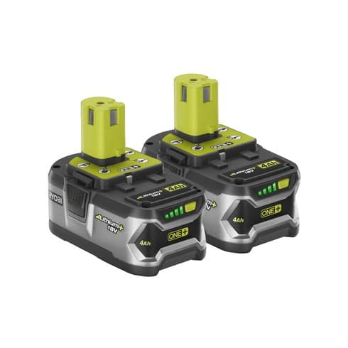 BOGO RYOBI 18V ONE+ LITHIUM+ High Capacity Battery - 4.0 AH BATTERY $99