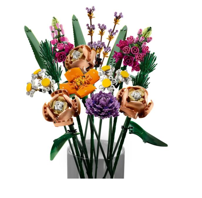 LEGO Flower Bouquet - $50