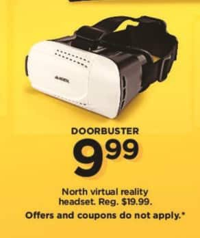 Kohl's Black Friday: North Virtual Reality Headset for $9.99