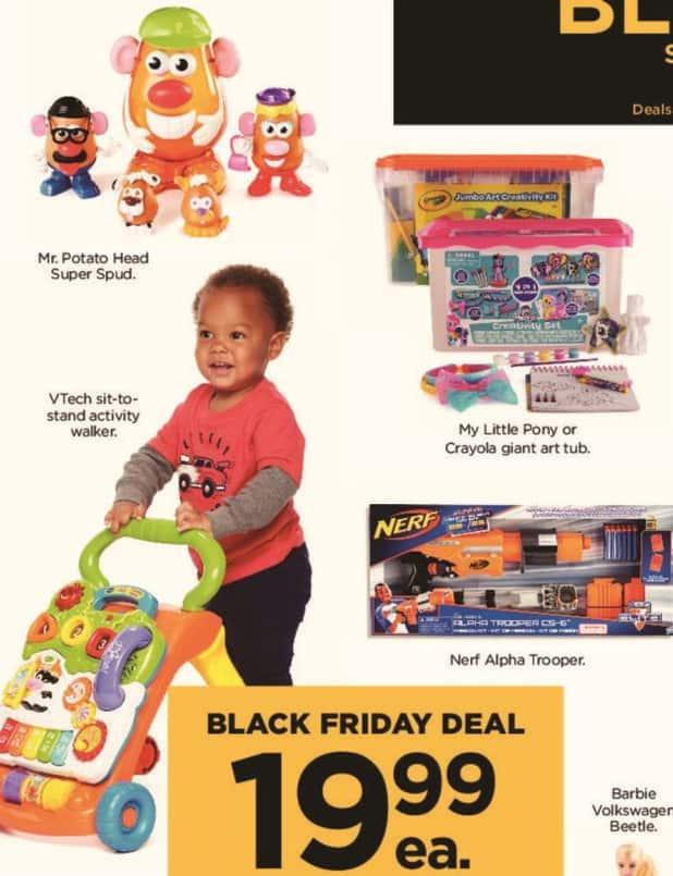 Kohl's Black Friday: VTech Sit-to-Stand Activity Walker for $19.99