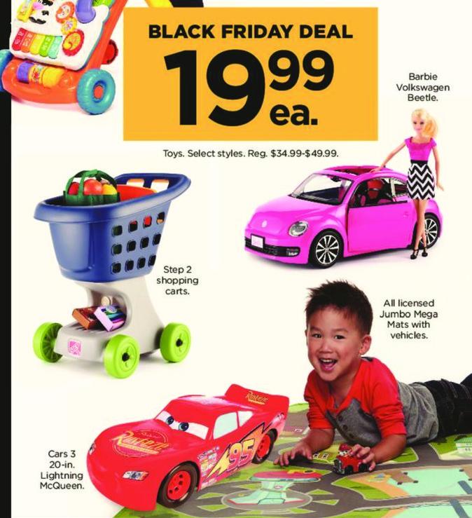 Kohl's Black Friday: Cars 3 20-in Lightning McQueen for $19.99