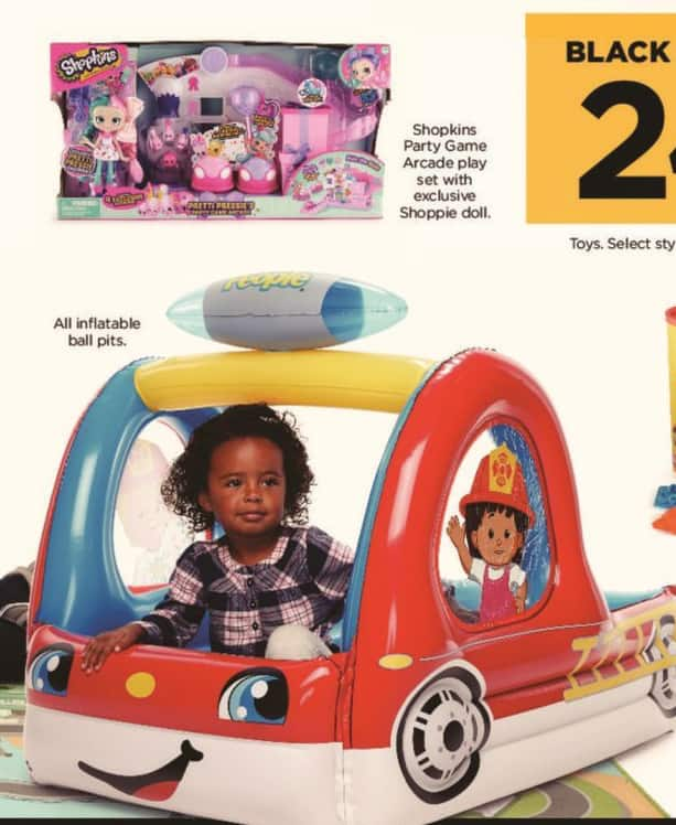 Kohl's Black Friday: Shopkins Party Game Arcade Play Set with Exclusive Shoppie Doll for $24.99