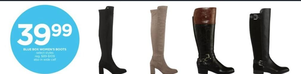 JCPenney Black Friday: Blue Box Women's Boots for $39.99