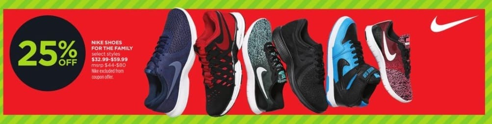 JCPenney Black Friday: Nike Shoes For The Family (Select Styles) for $32.99 - $59.99