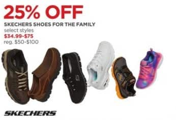 JCPenney Black Friday: Skechers Shoes For The Family (Select Styles) for $34.99 - $75.00