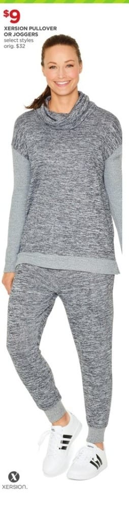 JCPenney Black Friday: Xersion  Pullover Or Joggers (Select Styles) for $9.00