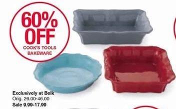 Belk Black Friday: Cook's Tools Bakeware for $9.99 - $17.99