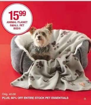 Belk Black Friday: Animal Planet Small Pet Beds for $15.99