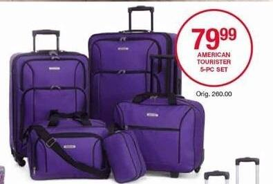 Belk Black Friday: American Tourister 5-pc. Set for $79.99