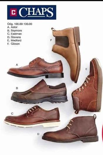 Belk Black Friday: Chaps Men's Shoes, Select Styles - B1G1 Free