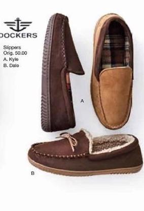 Belk Black Friday: Dockers Men's Slippers - B1G1 Free
