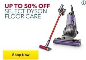 Best Buy Black Friday: Dyson Floor Care (Select) - Up to 50% Off