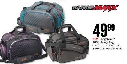 Bass Pro Shops Black Friday: RangeMaxx 1800 Range Bag for $49.99