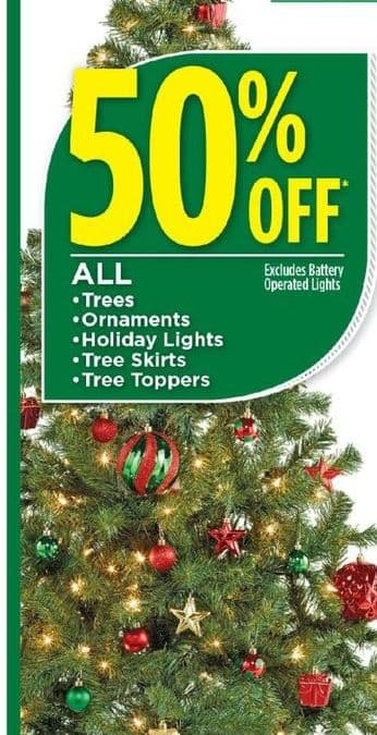 Dollar General Black Friday: All Trees, Ornaments, Holiday Lights, Tree  Skirts,