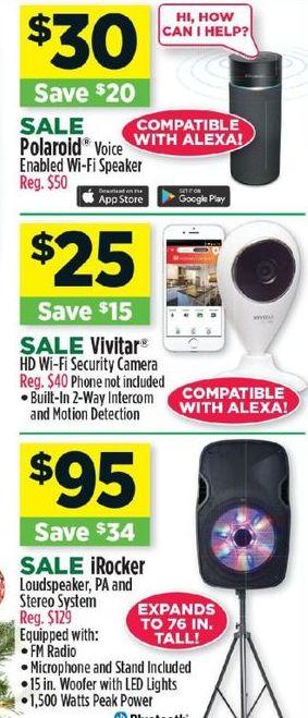 Dollar General Black Friday: iRocker Loudspeaker, PA, and Stereo System for $95.00