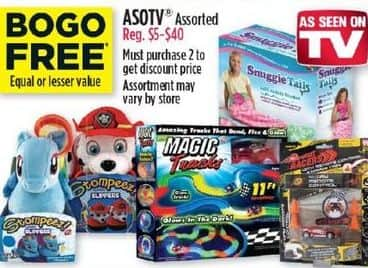 Dollar General Black Friday: As Seen On TV (Assorted) - B1G1  Free