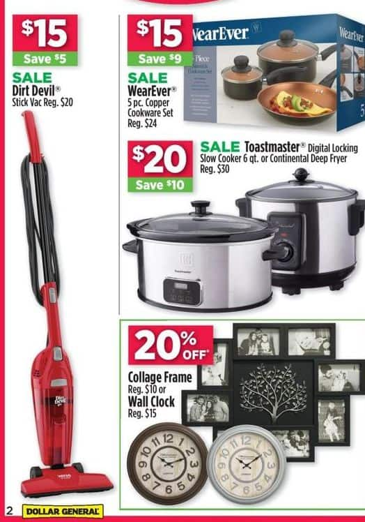 Dollar General Black Friday: Toastmaster 6 qt. Digital Locking Slow Cooker or Continental Deep Fryer for $20.00