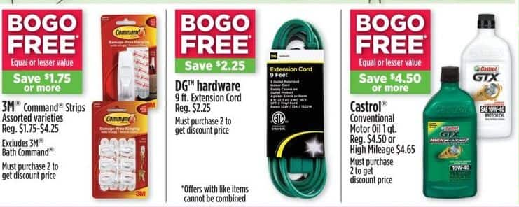Dollar General Black Friday: 3M Command Strips (Assorted Varieties) - B1G1  Free