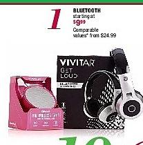 Burlington Coat Factory Black Friday: Vivitar Bluetooth Wireless Headphones for $9.99