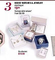 Burlington Coat Factory Black Friday: Boxed Watches & Jewelry - Starting At $5.99