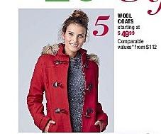Burlington Coat Factory Black Friday: Wool Coats - Starting At 449.99