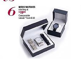 Burlington Coat Factory Black Friday: Mens Watches - Starting at $19.99