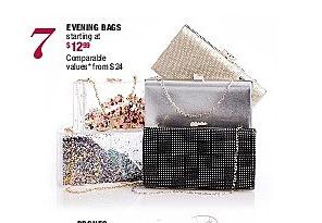 Burlington Coat Factory Black Friday: Evening Bags - Starting At $12.99