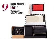 Burlington Coat Factory Black Friday: Boxed Wallets - Starting At $7.99
