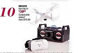 Burlington Coat Factory Black Friday: Drones - Starting At $ 39.99