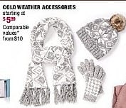 Burlington Coat Factory Black Friday: Cold-Weather Accessories - Starting At $5.99