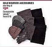 Burlington Coat Factory Black Friday: Men's Cold-Weather Accessories - Starting At $5.99