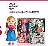 Burlington Coat Factory Black Friday: Dolls - Starting At $5.99