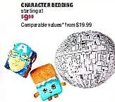 Burlington Coat Factory Black Friday: Character Bedding - Starting At $9.99