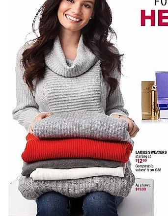 Burlington Coat Factory Black Friday: Ladies Sweaters - Starting At $12.99