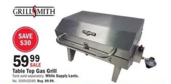 Mills Fleet Farm Black Friday: Grillsmith Table Top Gas Grill for $59.99