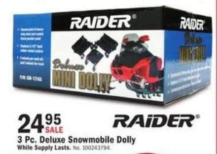 Mills Fleet Farm Black Friday: Raider Deluxe Mini Snowmobile Dolly for $24.95