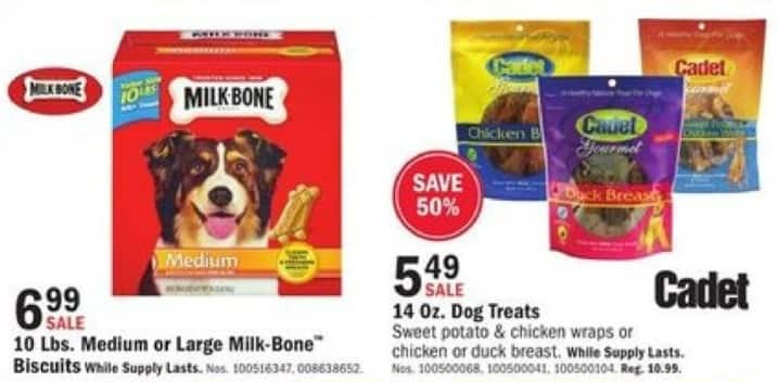 Mills Fleet Farm Black Friday: Cadlet Sweet Potato & Chicken Wraps Or Chicken Or Duck Breast Dog Treats for $5.49