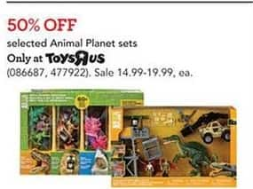Toys R Us Black Friday: Select Animal Planet Sets for $14.99 - $19.99
