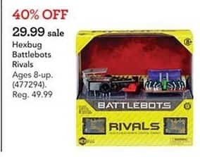 Toys R Us Black Friday: Hexbug Battlebots Rivals for $29.99