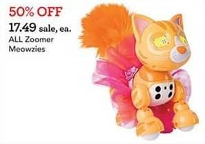 Toys R Us Black Friday: All Zoomer Meowzies for $17.49