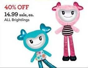 Toys R Us Black Friday: All Brightlings for $14.99